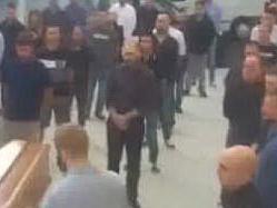 """Funerale fascista a SassariTodini jr: """"Così voleva papà"""""""