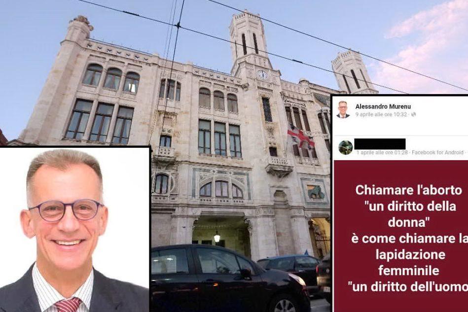 Cagliari, post del candidato grillino contro l'aborto: è polemica