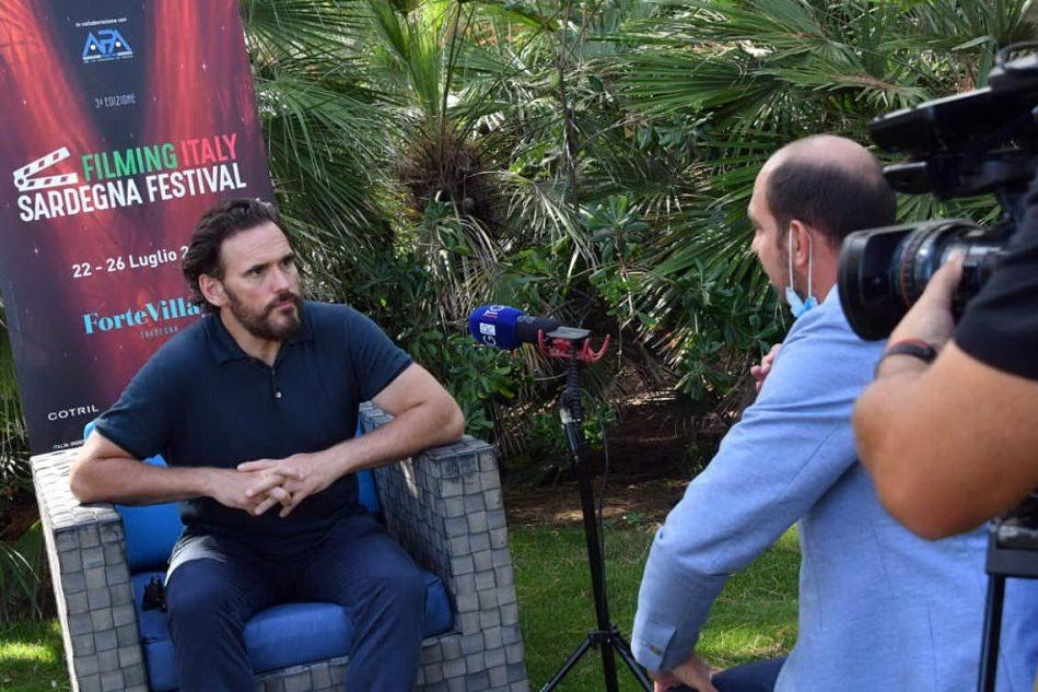 Filming Italy Sardegna, Matt Dillon superstar. Tutti i premiati