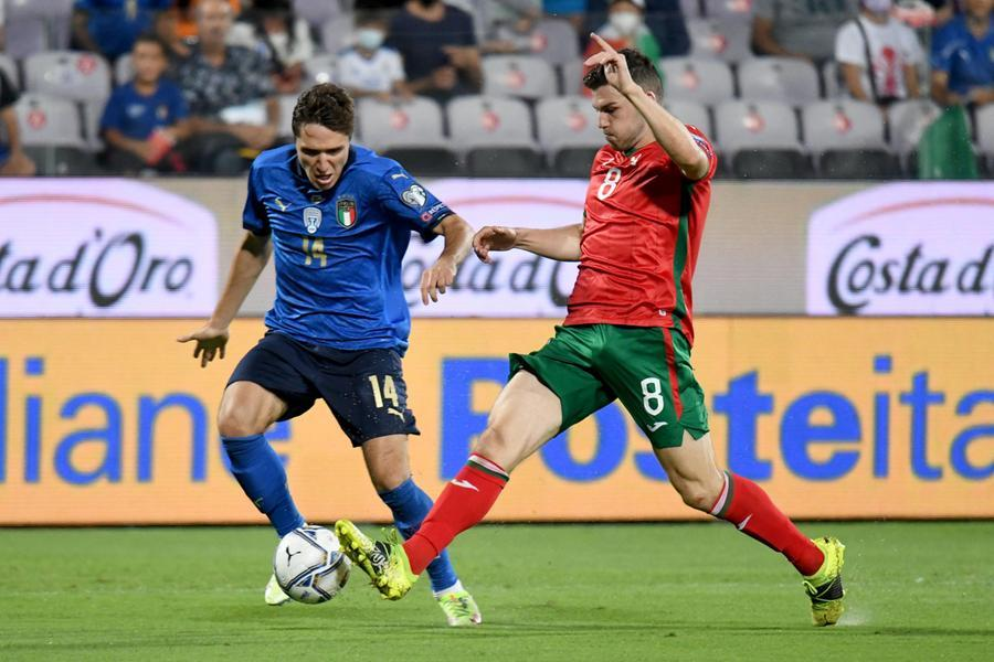 Azzurri in campo dopo il trionfo europeo: 1-1 contro la Bulgaria - L'Unione Sarda.it