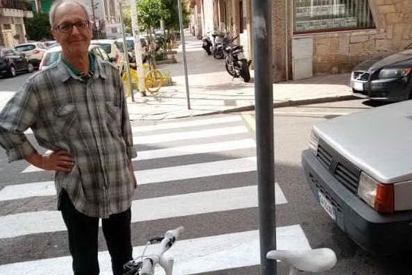 Addio ad Andrea Olla, tra i fondatori degli Amici della bicicletta