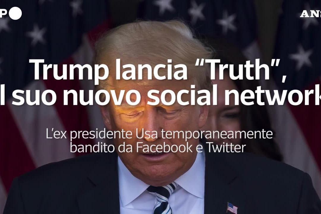 """Trump lancia """"Truth"""", il suo nuovo social network"""