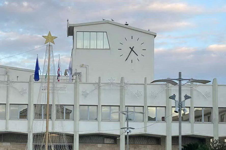 Il municipio (Foto M.Pala)