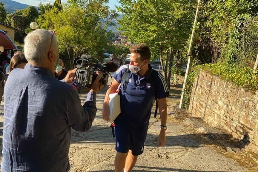 """Rossoblù in ritiro ad Aritzo. Di Francesco: """"Felici di essere qua"""""""