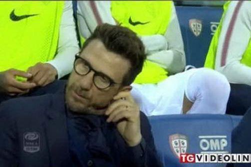 Ufficiale, Eusebio Di Francesco è il nuovo allenatore del Cagliari VIDEO
