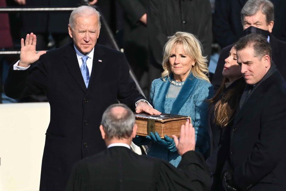Joe Biden, è il giorno del giuramento