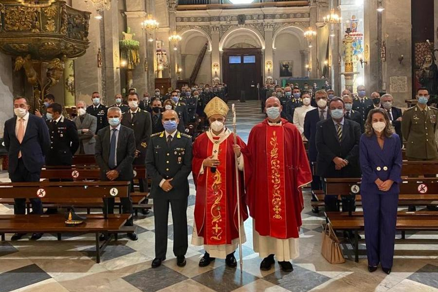 Sassari, la Gdf celebrail patrono San Matteo