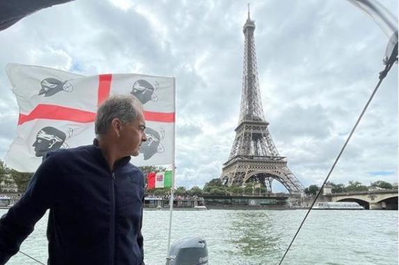 Dalla Sardegna alla Tour Eiffel col gommone, il viaggio di 43 giorni di Roberto Pappalardo
