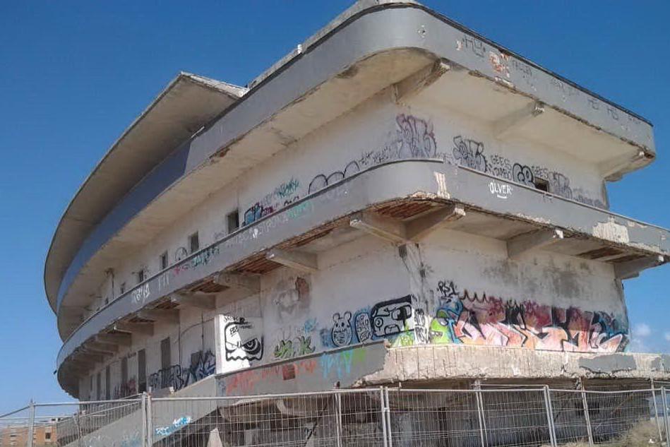 L'ex ospedale marino di Cagliari