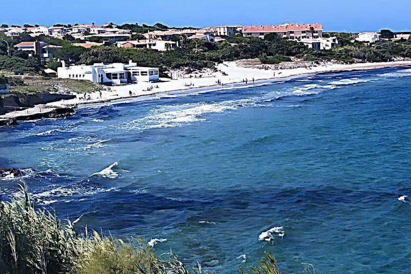 La spiaggia Sottotorre (L'Unione Sarda - Scano)