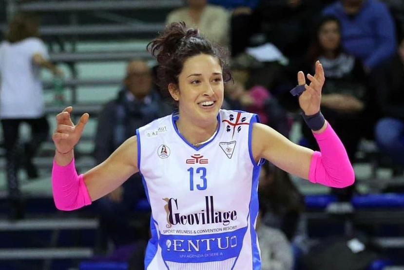 Volley, torna a Olbia Cindy Lee Fezzi