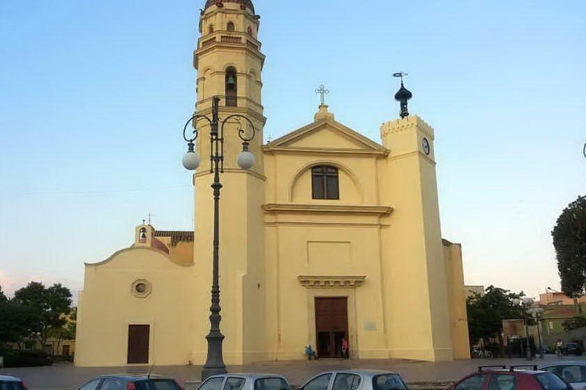 La basilica (Archivio L'Unione Sarda)