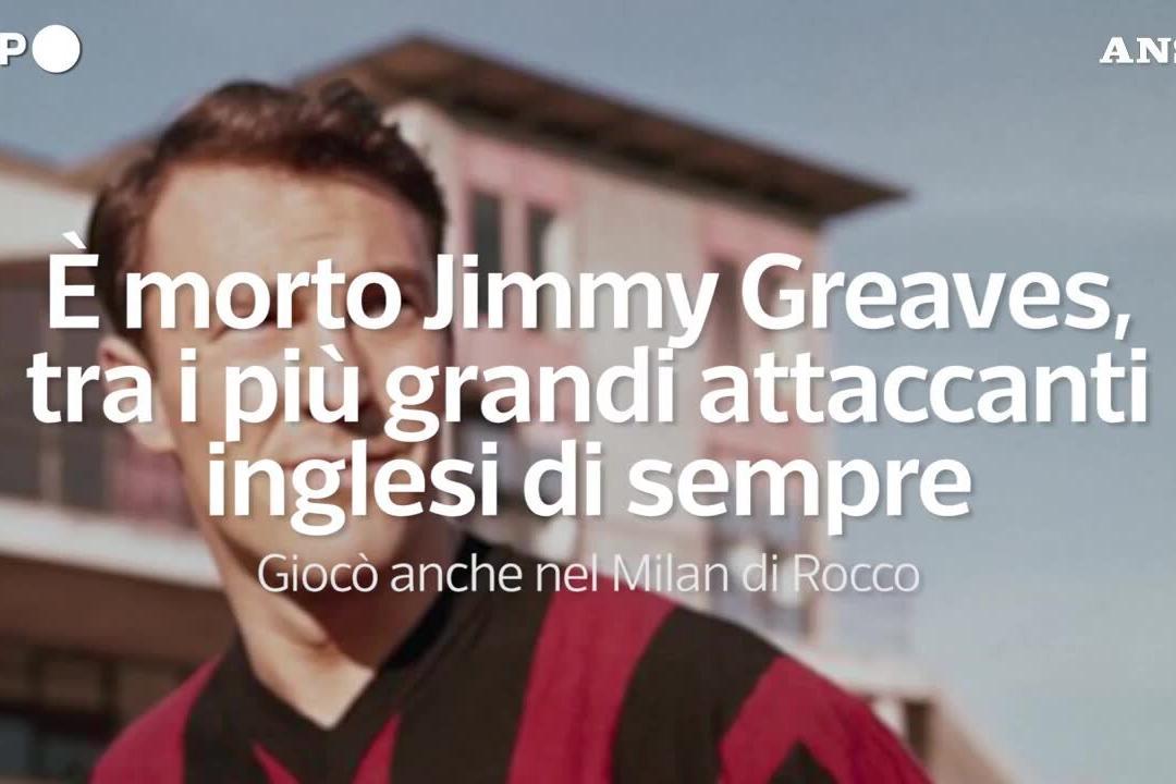 È morto Jimmy Greaves, tra i più grandi attaccanti inglesi di sempre