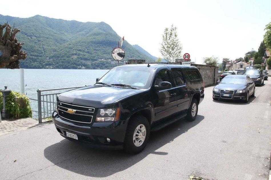 """Gli Obama a """"Villa Clooney"""" sul lago di Como"""