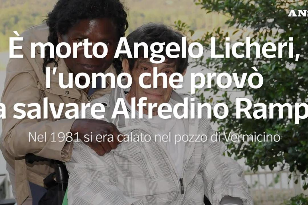 Addio ad Angelo Licheri, l'uomo che provò a salvare Alfredino Rampi