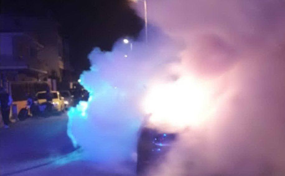 Notte di lavoro per i vigili (foto Vigili del fuoco)