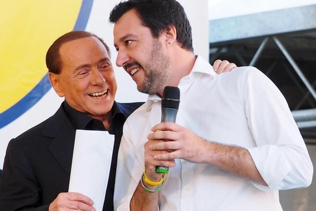 Salvini-Berlusconi, l'incontro a Villa Certosa
