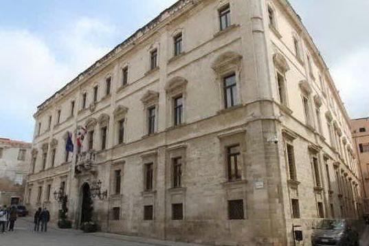 Palazzo Ducale a Sassari (archivio L'Unione Sarda)