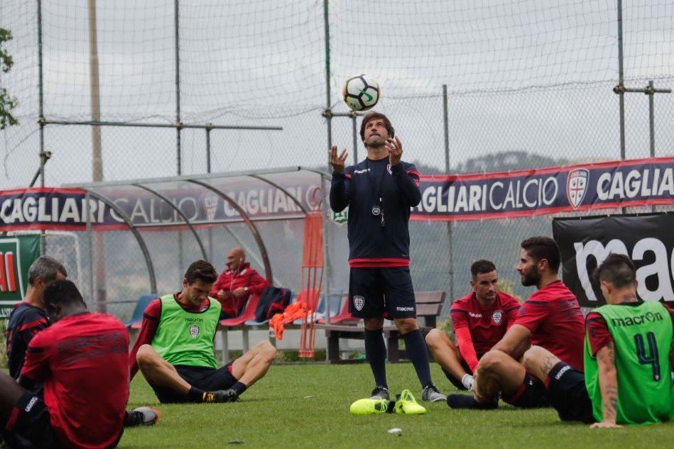 Cagliari, Romagna si aggrega al gruppo: l'allenamento ad Aritzo