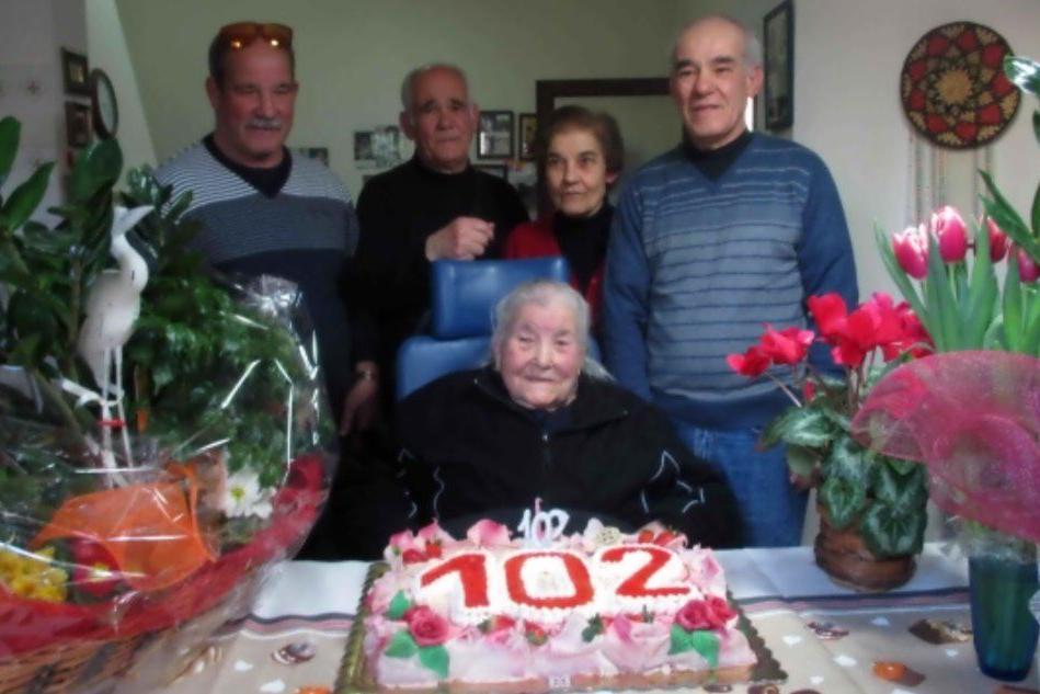 Addio Ernesta, Genoni perde la sua nonnina ultracentenaria