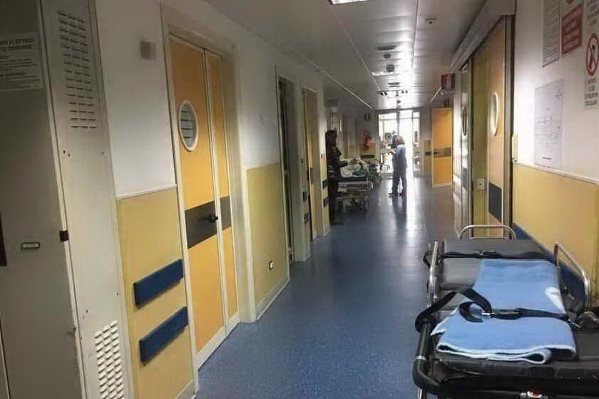 L'interno dell'ospedale (Archivio Us)