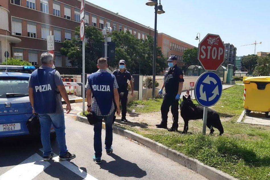 """""""C'è una bomba nei parcheggi sotterranei"""": scatta l'allarme nella zona del Tribunale"""