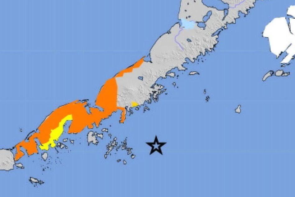 Violento terremoto di magnitudo 7.8 in Alaska, è allerta tsunami