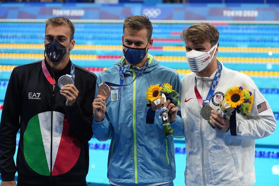 Nuoto, Paltrinieri più forte di tutto: argento negli 800 stile libero - L'Unione Sarda.it