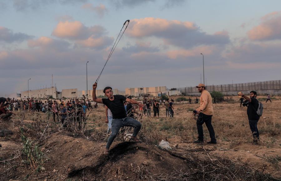 Gaza: 41 feriti negliscontri, Israele colpisce le postazioni di Hamas - L'Unione Sarda.it
