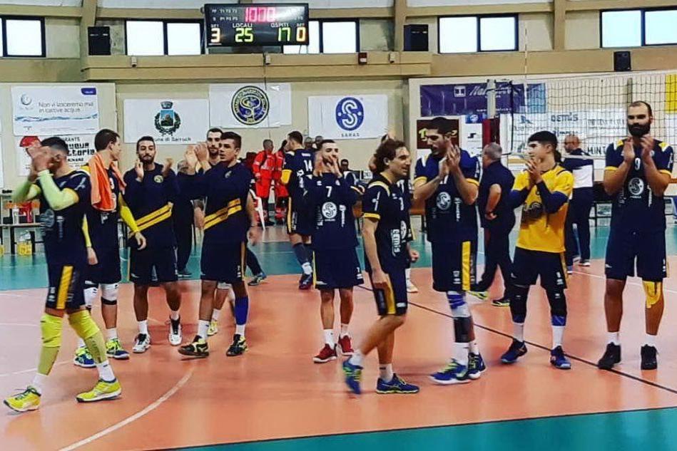 Volley: pronto riscatto del Sarroch, il Cus Cagliari superato al tie break
