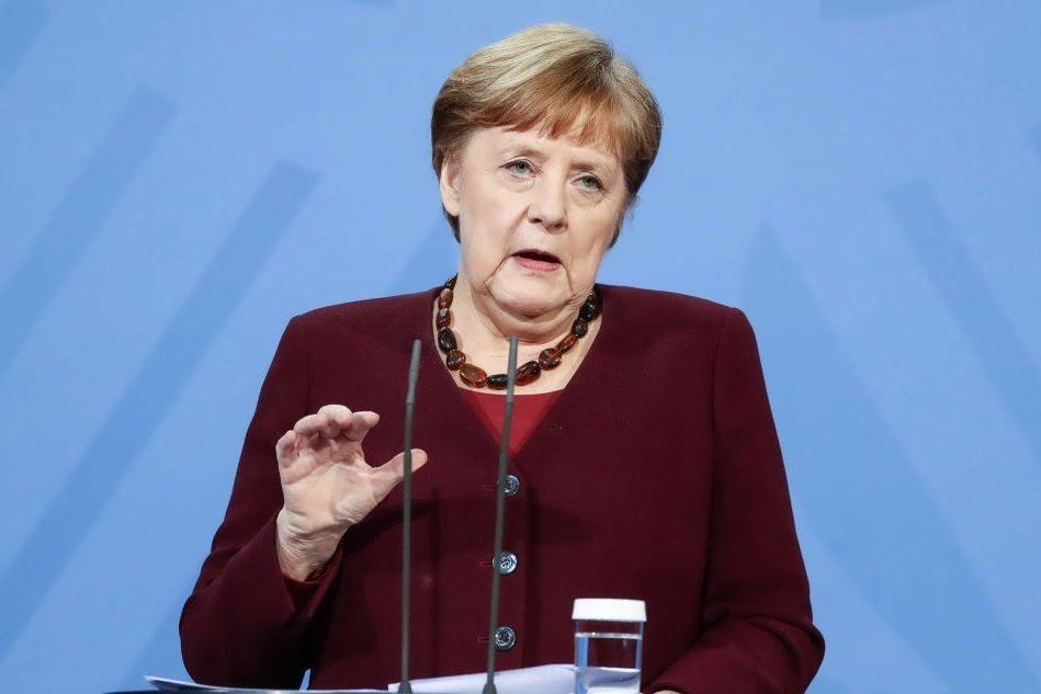 Angela Merkel punta a estendere il lockdown fino ad aprile