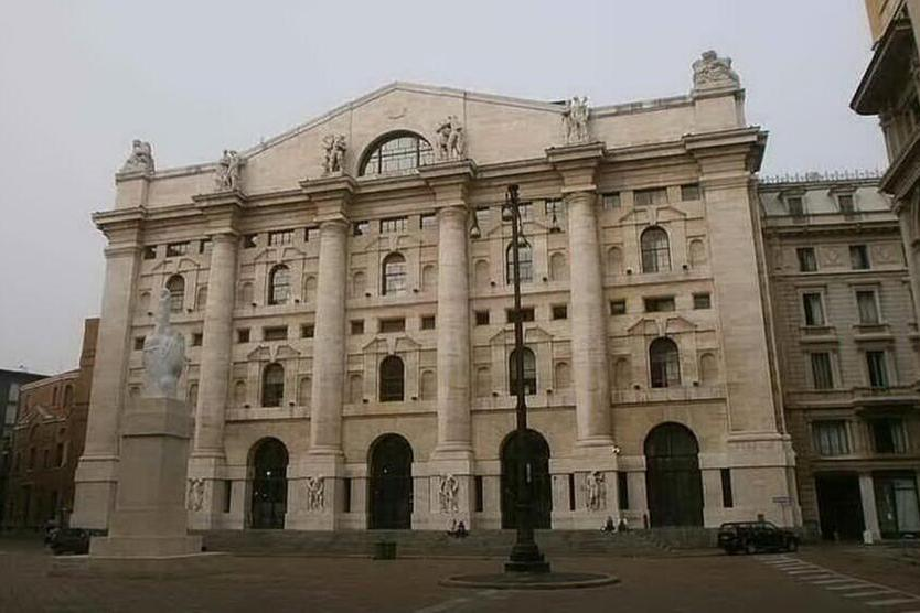 La Borsa di Milano (Archivio L'Unione Sarda)