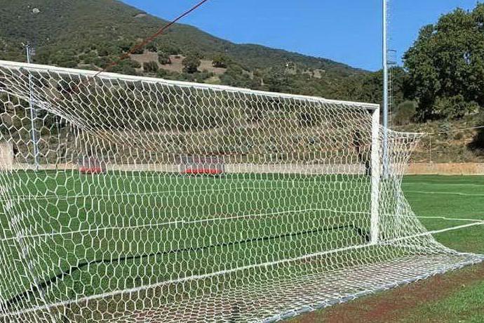 Il nuovo impianto sportivo di Bottidda (foto L'Unione Sarda - Tellini)
