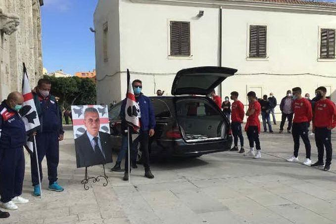 """Addio presidente"": Porto Torres saluta il sardista Pietro Madeddu"