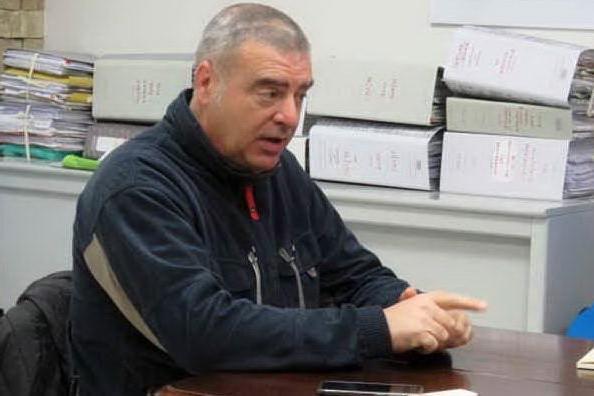 Il sindaco di Genuri Danilo Piras