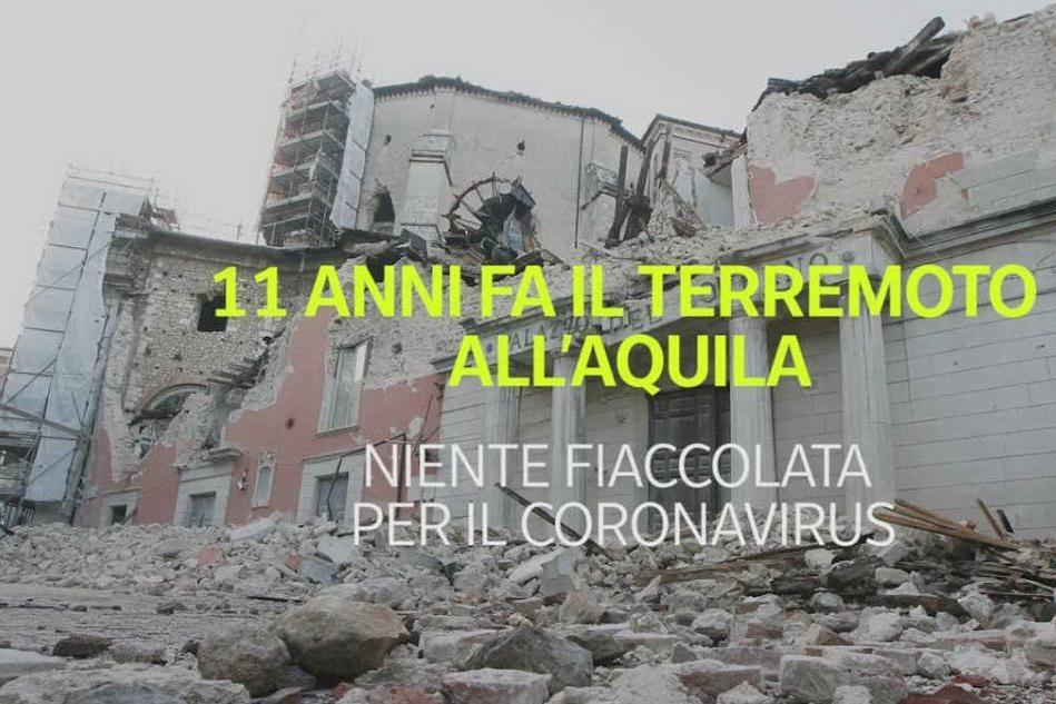 11 anni fa il terremoto a L'Aquila