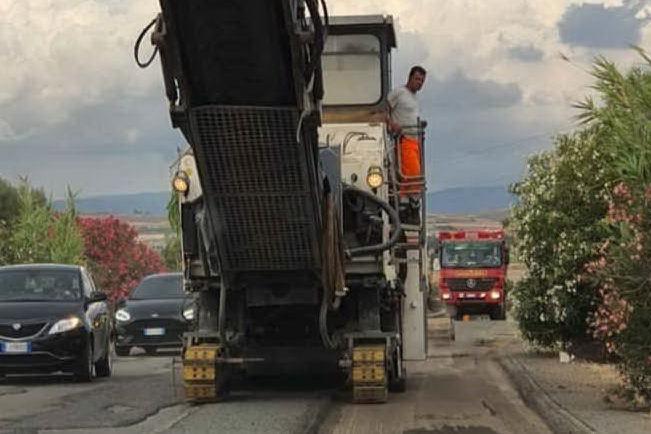 Serramanna, proseguono i lavori sulla provinciale 54