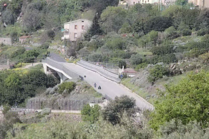 Macomer, danneggiato il viadotto di S'Adde sulla strada per Nuoro
