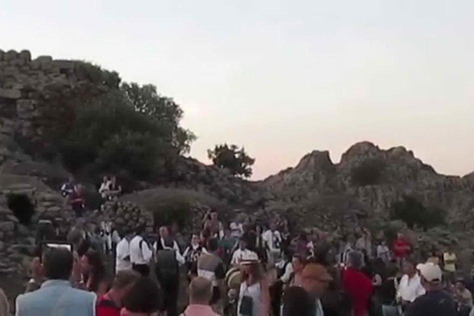 Macomer, la notte di San Lorenzo nell'area archeologica di Tamuli