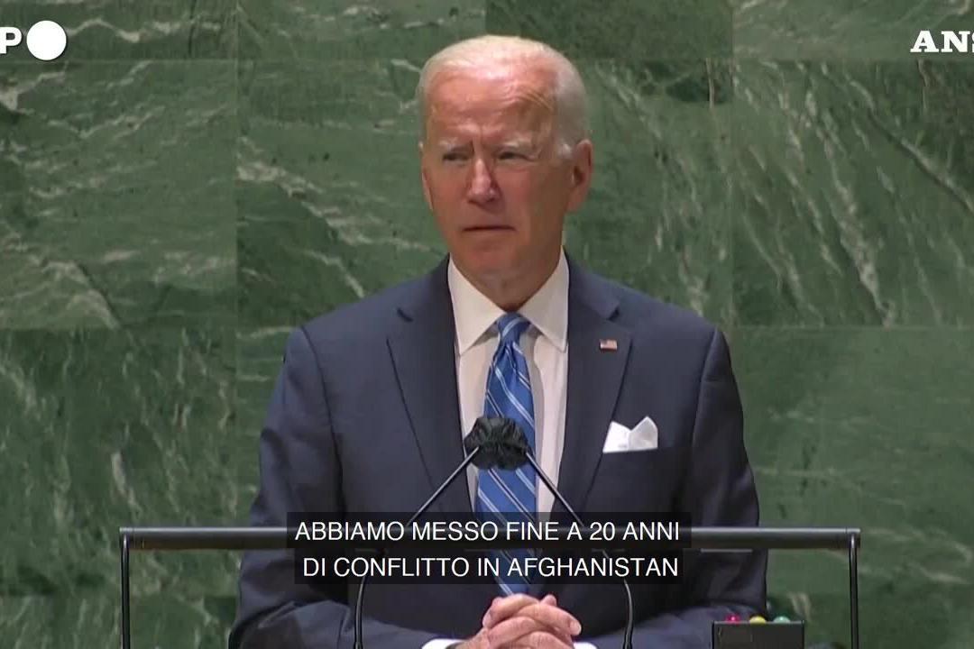 """Biden: """"Dopo l'Afghanistan inizia una nuova era di diplomazia"""""""