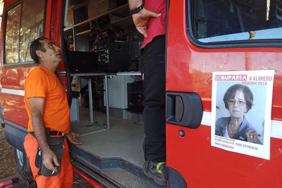 Donna scomparsa ad Alghero, ricerche in corso