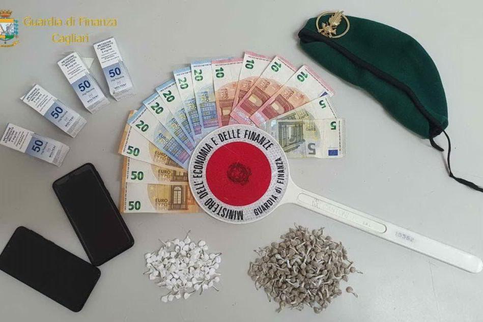 Blitz a Sant'Elia, sequestrate centinaia di dosi di eroina e cocaina