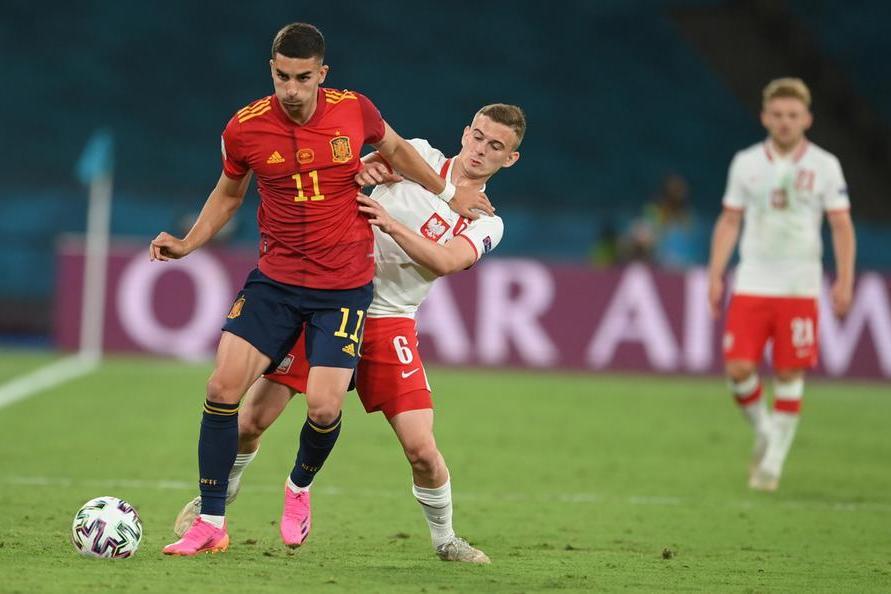Europei, pari tra Spagna e Polonia. Portogallo-Germania finisce 2-4