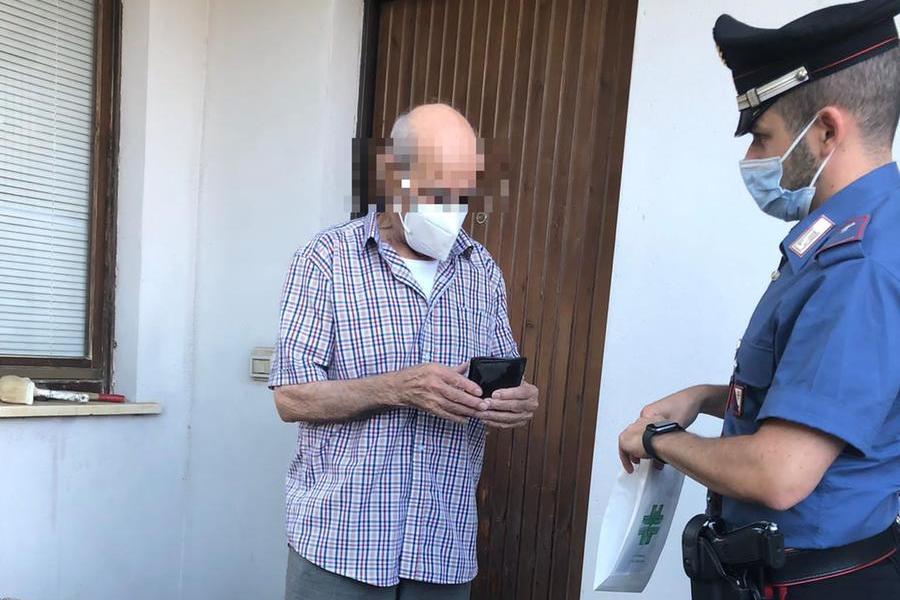 """""""Pronto, 112? Sono solo, aiutatemi"""": i carabinieridi Silanus in azione per il farmaco salvavita"""