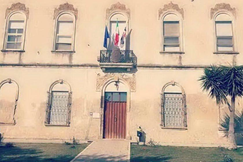 Il municipio di Guasila (foto Sirigu)