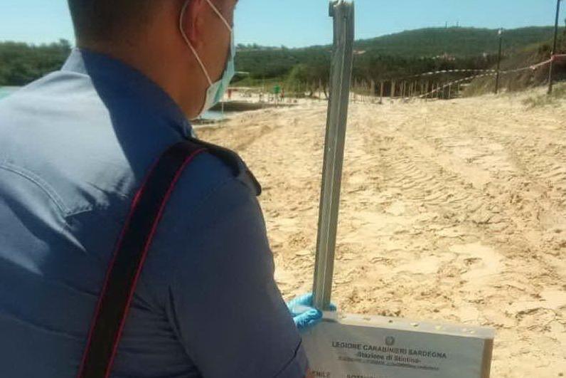 Stintino, sigilli allo stabilimento balneare Il Gabbiano