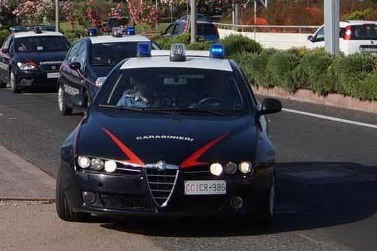 Le pattuglie (foto carabinieri)