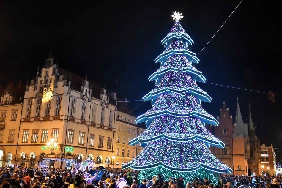 Luci di Natale, le immagini dal mondo