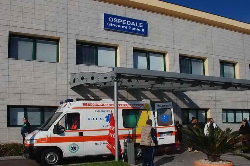L'ospedale di Olbia