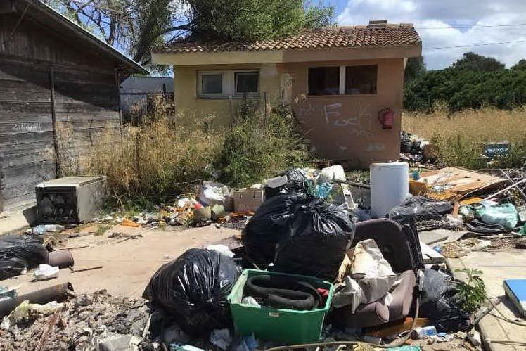 Porto Torres, campo rom: si parte con il piano di bonifica
